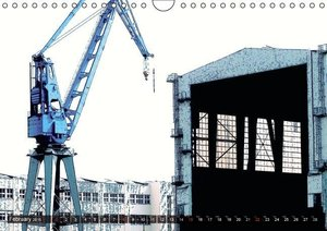 Photo-Art / Port of Hamburg / UK-Version (Wall Calendar 2015 DIN