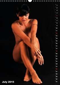 Seated naked beauties (Wall Calendar 2015 DIN A3 Portrait)
