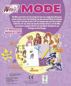 Winx Club - Mein Mode-Mallbuch (lila)