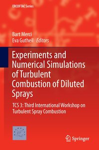 Experiments and Numerical Simulations of Turbulent Combustion of