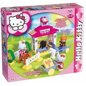 BIG 800057012 - Hello-Kitty: Play-BIG-Bloxx Ponyhof