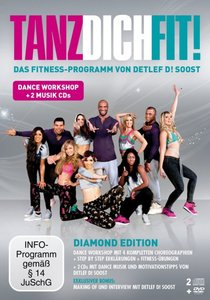 Tanz Dich Fit Diamond Edition DVD + 2 CDs