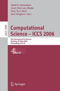 Computational Science - ICCS 2006 /4