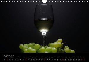 Wine / UK-Version (Wall Calendar 2015 DIN A4 Landscape)