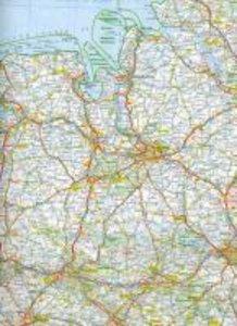 KuF Deutschland Straßenkarte 1 : 800 000