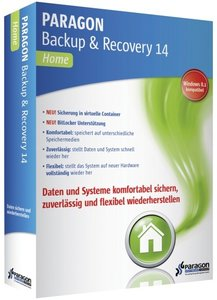 Paragon Backup & Recovery 14 Home