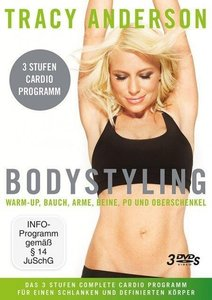 Tracy Anderson: Bodystyling-Sammelbox Stufe 1-3
