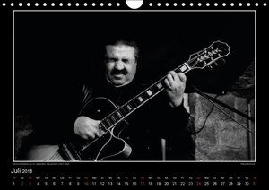 Jazz onstage (Wandkalender 2016 DIN A4 quer)