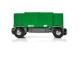 Brio 33561 - Güterwaggon mit Ladung