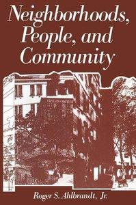 Neighborhoods, People, and Community