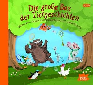 Die große Box der Tiergeschichten