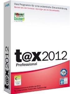 t@x 2012 Professional (für Steuerjahr 2011)