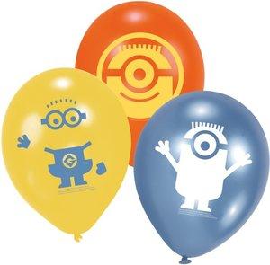 MIN Minions Luftballons 6 Stück