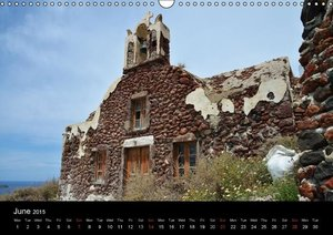 Churches and monasteries in Greece (Wall Calendar 2015 DIN A3 La