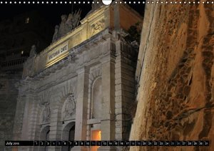 Valletta by night (Wall Calendar 2015 DIN A3 Landscape)