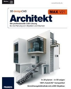 3D Design CAD Architekt V21