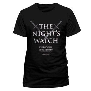 Nights Watch (T-Shirt,Schwarz,Größe M)