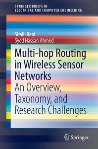 Multi-hop Routing in Wireless Sensor Networks