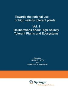 Towards the rational use of high salinity tolerant plants