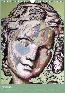 Inspired by Sculpture (Wall Calendar 2015 DIN A4 Portrait)