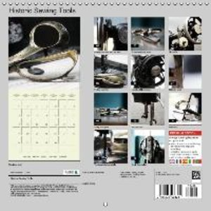 Historic Sewing Tools (Wall Calendar 2015 300 × 300 mm Square)