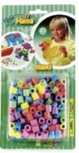 HAMA 8371 - MAXI Perlen: Pastell-Mix, 300 Stück