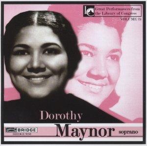 Dorothy Maynor,soprano