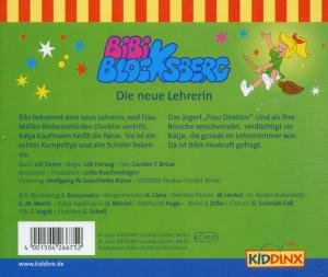 Bibi Blocksberg 75. Die neue Lehrerin. CD
