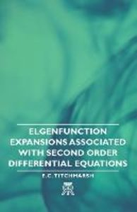 Elgenfunction Expansions Associated with Second Order Differenti