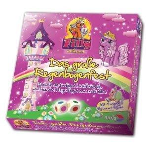 Noris 606017366 - Filly Unicorn: Großes Regenbogenfest