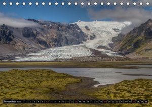 Island: Vögel, Pflanzen, Landschaften (Tischkalender 2016 DIN A5