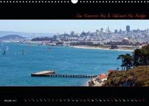 SAN FRANCISCO - Panoramic Highlights / UK-Version (Wall Calendar