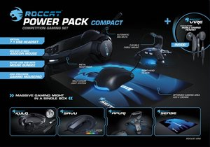 ROCCAT Power Pack Compact - 5 in 1-Competition Gaming Set