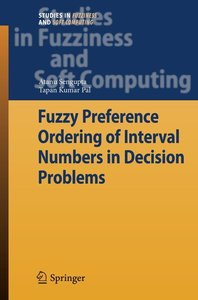 Fuzzy Preference Ordering of Interval Numbers in Decision Proble