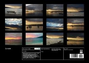 Sunsets at sea (Poster Book DIN A3 Landscape)