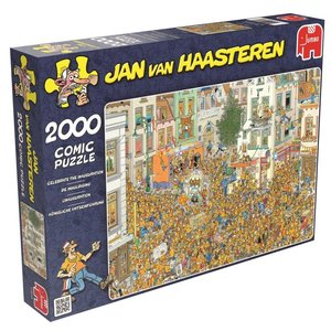 Jan van Haasteren - Königliche Amtseinführung - 2000 Teile