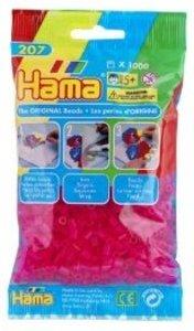 Hama 207-32 - Perlen fuchsja, 1000 Stück