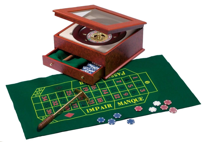 Philos 3706 - Roulette Set, Design II - zum Schließen ins Bild klicken
