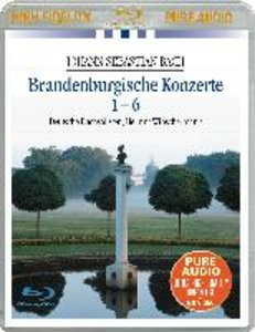 Brandenburgische Konzerte Blu-ray Audio