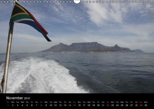 Impressions from Cape Town (Wall Calendar 2015 DIN A3 Landscape)
