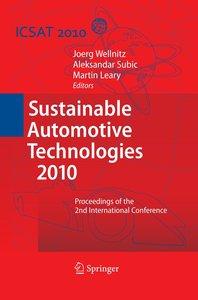 Sustainable Automotive Technologies 2010