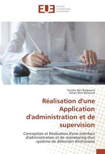 Réalisation d'une Application d'administration et de supervision
