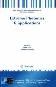 Extreme Photonics & Applications