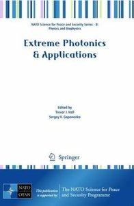 Extreme Photonics & Applications