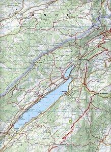 KuF Schweiz Wanderkarte 15 Lausanne - Vallée de Joux 1 : 60 000