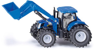 Siku 1986 - New Holland mit Frontlader