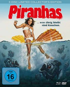Piranhas - Mediabook (1 Blu-ray + 2 DVDs)