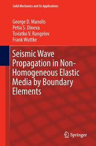 Seismic Wave Propagation in Non-Homogeneous Elastic Media by Bou