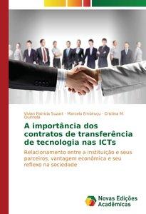 A importância dos contratos de transferência de tecnologia nas I