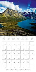 Greenland - The great snowy wilderness (Wall Calendar 2015 300 ×